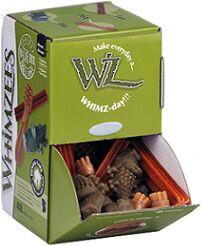 Whimzees лакомство для чистки зубов МИКС (палочки/ щетки/ крокодильчики) для собак S 48 шт в дисплее