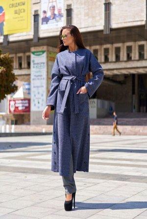 Облегченное пальто Мириам синий
