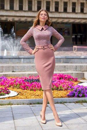 Платье Аврора  бежевый