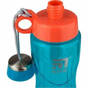 Бутылочка для воды Kite K20-396-02, 800 мл, бирюзовая