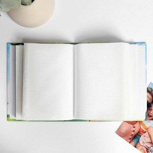 """Фотоальбом на 100 фото в твердой обложке """"Наша любимая семья"""""""