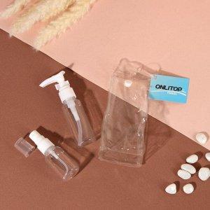 Набор для хранения, в чехле, 2 предмета, цвет белый