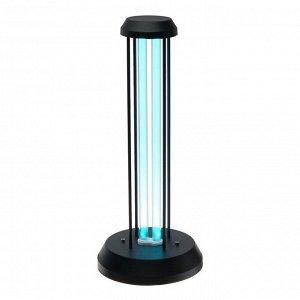 Светильник ультрафиолетовый бактерицидный Uniel, 36Вт, озонирование, 185 нм., до 40м2,черный