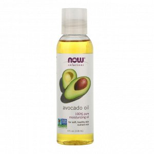 Now Foods, Решения, масло авокадо, 118 мл
