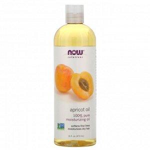 Now Foods, Solutions, Apricot Oil, 16 жидких унций (473 мл)