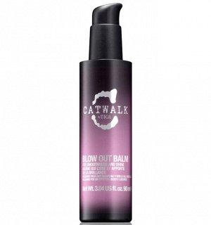 Tigi сatwalk blow out balm сыворотка бальзам для блеска и гладкости волос 90мл