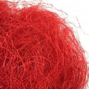 Сизаль натуральная 100 гр уп цвет красный