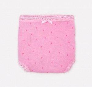 Трусы для девочки Crockid К 1909-3 розовая вишня, сахар (розовая крапинка)
