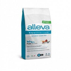 Alleva Equilibrium Sensitivе сухой корм для щенков всех пород с океанической рыбой 2кг