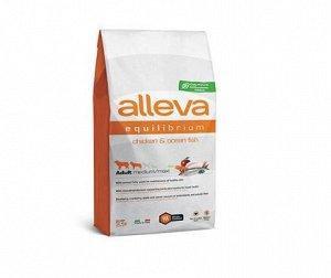 Alleva Equilibrium Maintenance сухой корм для собак с курицей и океанической рыбой 2кг