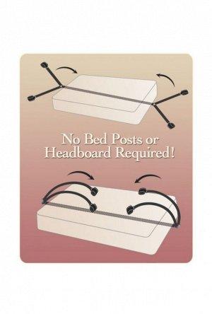 Набор фиксаторов с креплением для кровати Bed Bindings Restraint Kit