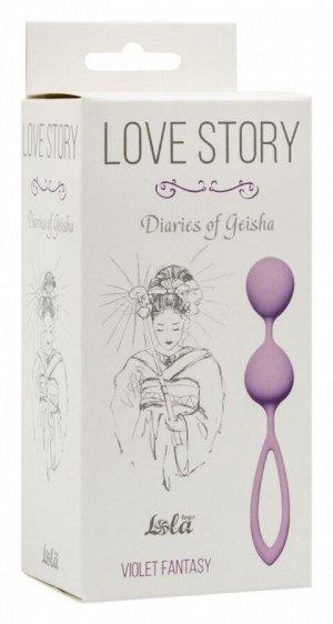 Средние шарики в силиконовой оболочке Violet Fantasy