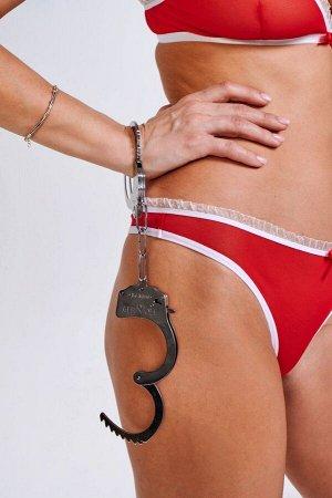 Металлические наручники Handcuffs Be Mine