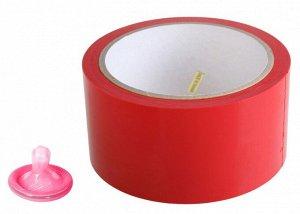Красный скотч для связывания Pleasure Tape
