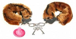 Наручники меховые Love cuffs