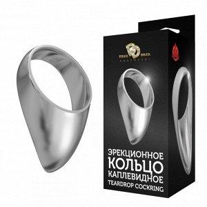Большое каплевидное эрекционное кольцо TEARDROP COCKRING (385 г)