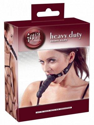 Кляп с фаллосом Heavy Duty