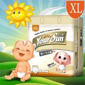 YourSun Подгузники трусики ультратонкие XL (12-16) 24шт