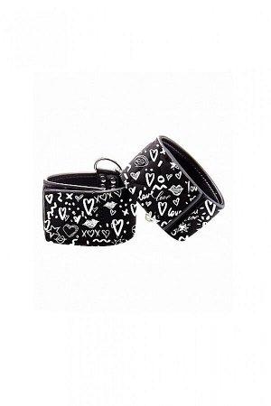 Наножники серии OUCH! Printed Ankle Cuffs