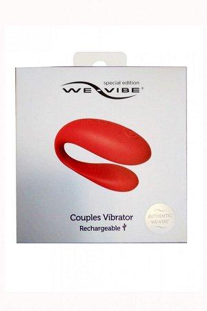 Перезаряжаемый вибромассажер для пар We-Vibe Special Edition Rechargeable (7 режимов)