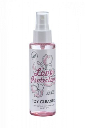 Антисептический спрей для очищения игрушек Love Protection Toy Cleaner (без спирта) 110 мл