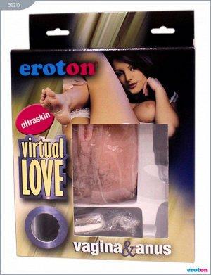 Вибровагина и анус с вибрацией VIRTUAL LOVE