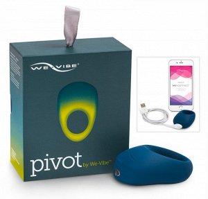 Перезаряжаемое эрекционное кольцо Pivot We-Vibe (10 режимов, синхронизируется со смартфоном)