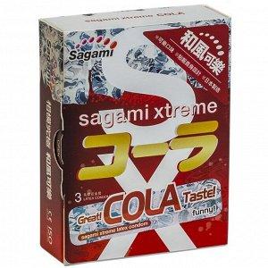 Презервативы Sagami Xtreme Cola №3 (аромат Кола)