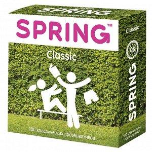 Классические презервативы SPRING Classic (100 шт)