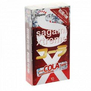 Презервативы  Sagami Xtreme Cola №10 (10 шт.)