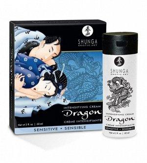 Возбуждающий крем для двоих с эффектом огня и льда Dragon Sensitive (60 мл)
