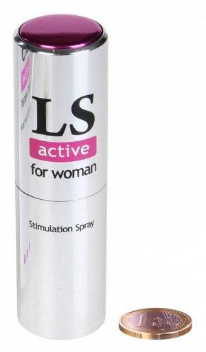 Возбуждающий спрей для женщин ACTIVE (18 мл)
