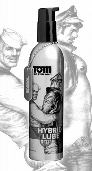 Анальная смазка на водно-силиконовой основе Tom of Finland Hybrid Lube (236 мл)