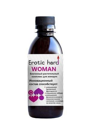 Сироп для женщин Erotic Hard для повышения либидо и сексуальности (250 мл)