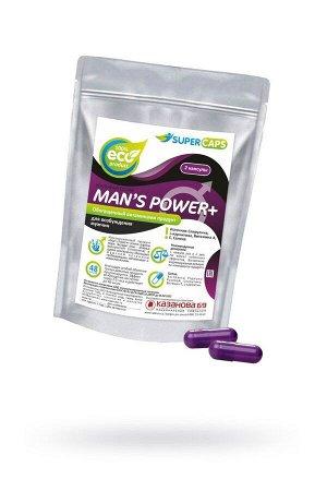Возбуждающие капсулы для мужчин Man's Power+ (2 капсулы)
