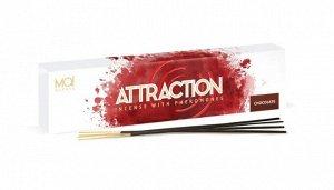 Ароматические палочки с феромонами Mai Attraction (шоколад) (20 шт)