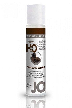 Вкусовой лубрикант на водной основе Flavored Chocolate Delight (шоколад) 30 мл