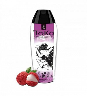 Лубрикант на водной основе с ароматом личи TOKO (165 мл)