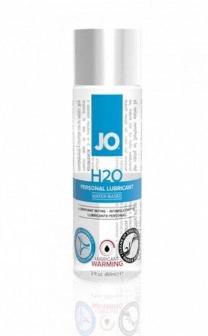 Возбуждающий и согревающий лубрикант на водной основе Lubricant H2O Warming (60 мл)