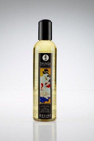 Натуральное массажное масло Shunga DESIRE с ароматом ванили (240 мл)