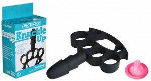 Кастет со штырьком для насадки-фаллоса Knuckle Up