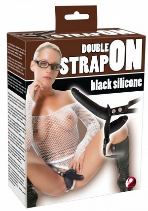 Страпон с для двойного проникновения Double Strap On