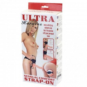Надувной страпон Sensual Comfort Strap-On