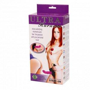 Страпон-трусики со съемным вибратором Ultra Harness