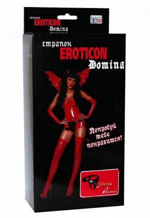 Реалистичный фаллос на кожаных трусиках Eroticon