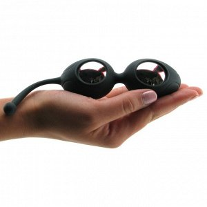 Вагинальные шарики в силиконовой оболочке Silicone Pleasure Balls