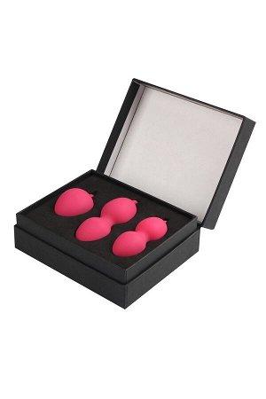 Комплект из трех шариков Nova Exercise Balls (розовые)