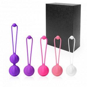Набор вагинальных шариков LULU (5 шариков)