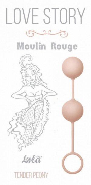 Шарики в силиконовой оболочке для тренировки мышц Moulin Rouge Tender Peony