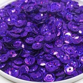 Пайетки. Фиолетовый голографик.